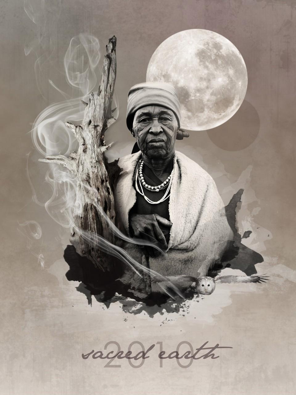 Sacred Earth Festival Poster design
