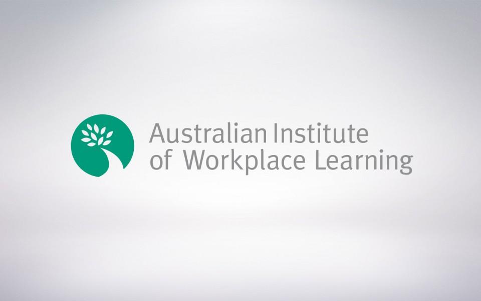 Australian Institute for Workplace Learning Program logo design