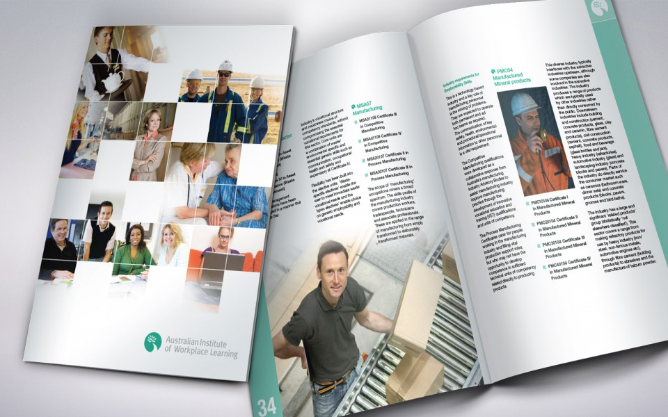 Australian Institute for Workplace Learning Program booklet
