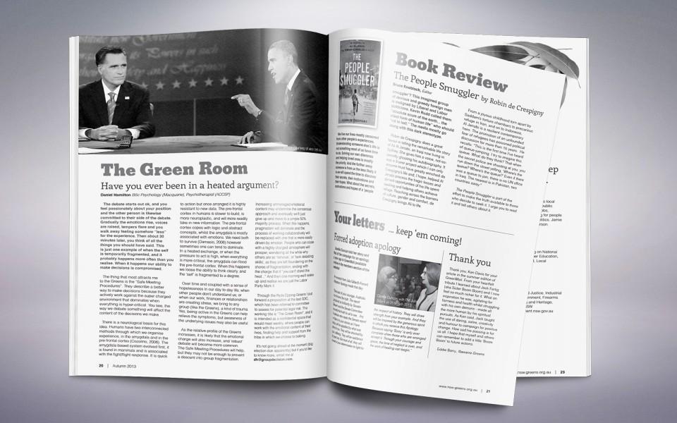 NSW Greens GreenMail Magazine