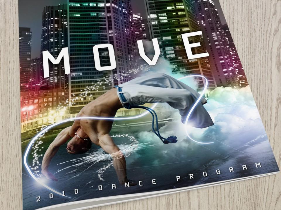 Move Dance program booklet