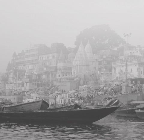 Double exposure Benares