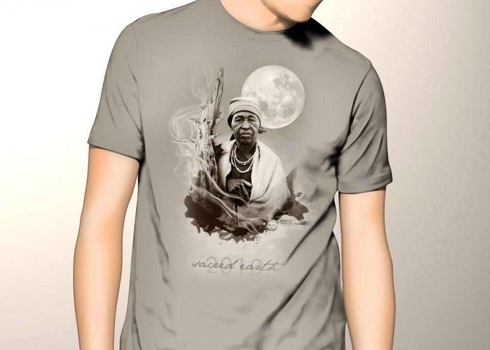 Sacred Earth Festival T-Shirt design