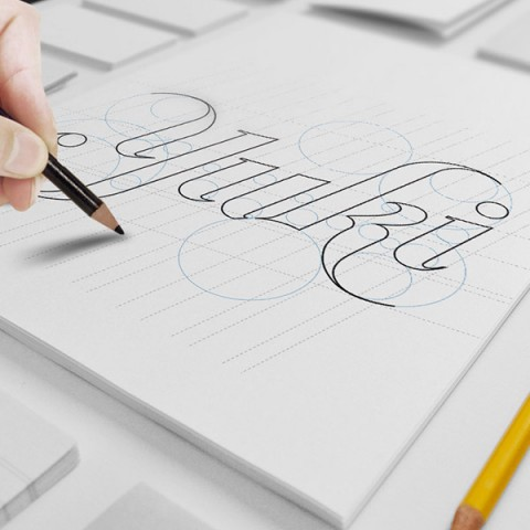 yuki designs logo sketch book
