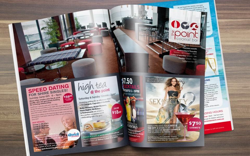 Cronulla Surf Club Advance Magazine design