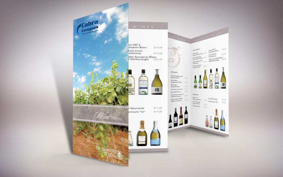 De Bortoli Wines wine list