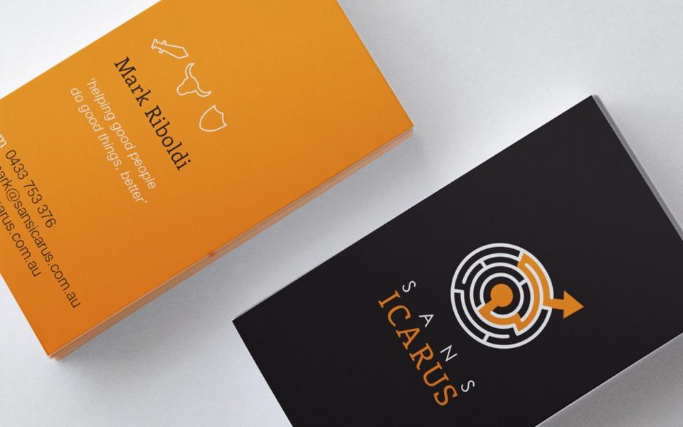 Sansicarus business cards