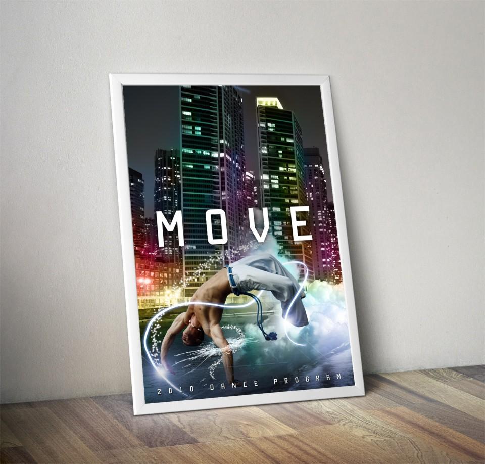 Move Dance program poster