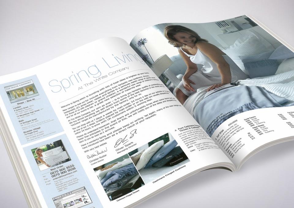 The White Company London Homewares & Bedding catalogue