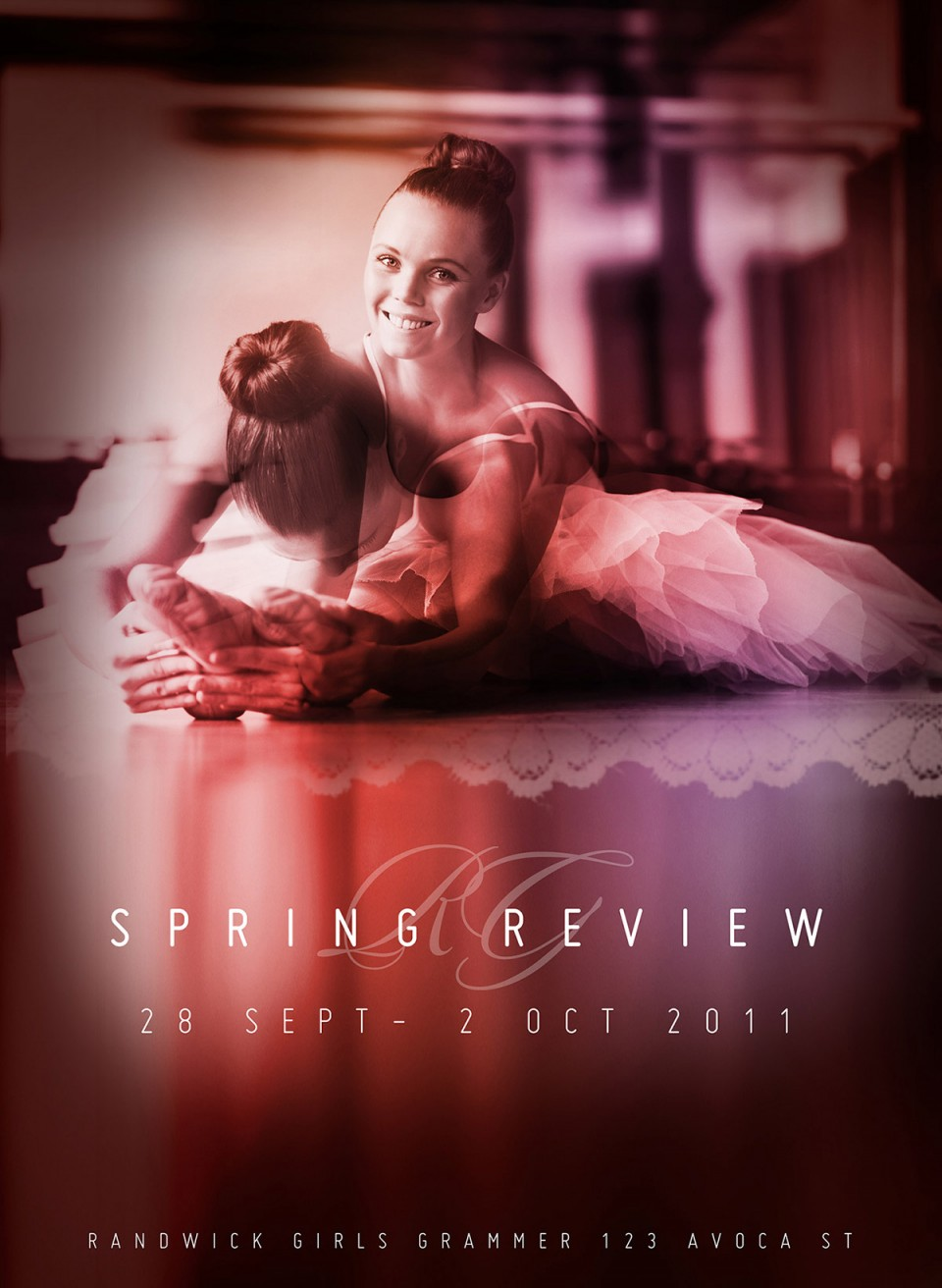 Spring Ballet Review Poster