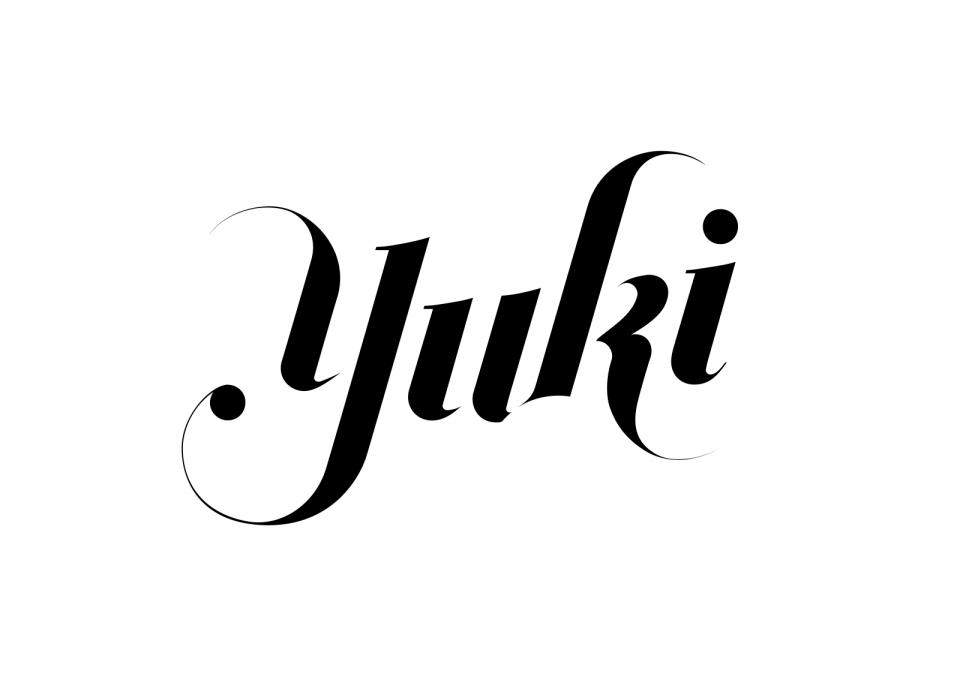 yuki designs logo on white