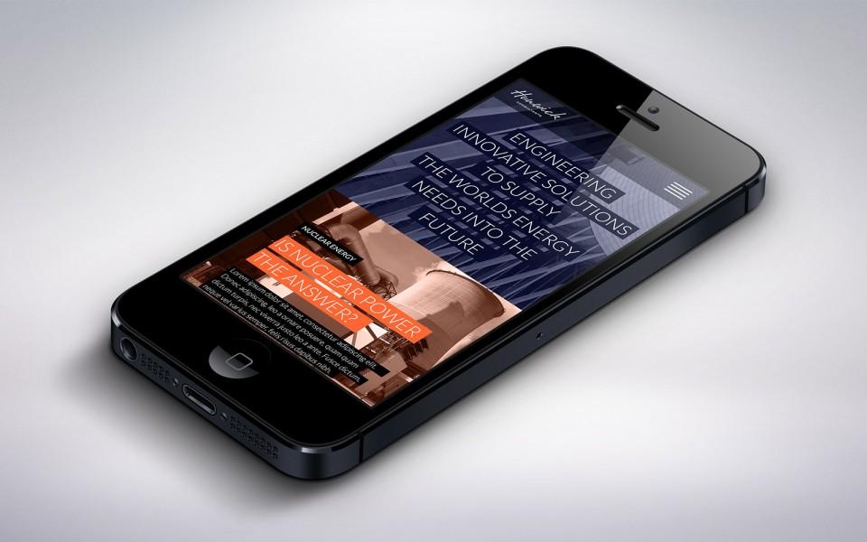 Hunwick mobile design