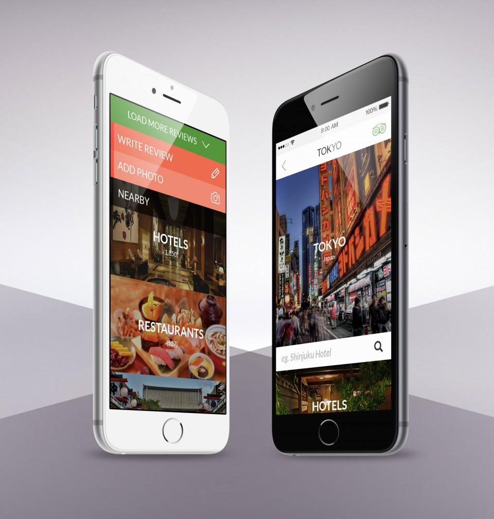 Trip Advisor Mobile App Design