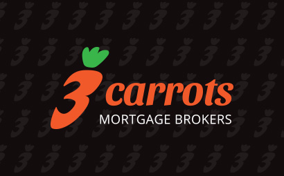 3 carrots mortgage brokers branding